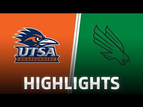 Highlights: UTSA at North Texas