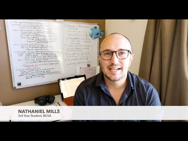 Studying at BCSA  I  Nathaniel Mills