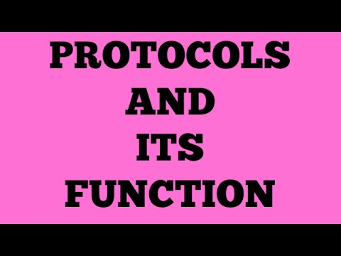 PROTOCOLS AND ITS FUNCTIONS | COMMUNICATION | BSNL JE (TTA) | JTO