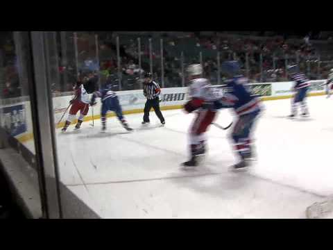 12-7-13 Grand Rapids Griffins vs. Rochester Americans Post Game Highlights