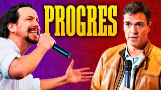 PROGRES | Pedro Sánchez y Pablo Iglesias | Nino Bravo - Libre (Parodia) | Canción de PSOE y Podemos