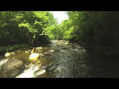 Tubing on the Deep Creek in North Carolina with YM