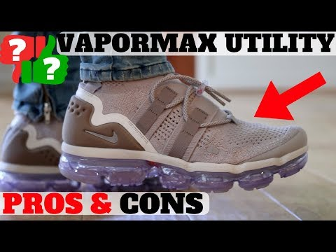 release date 32712 df32e Worth Buying? $225 Nike Air Vapormax Utility Review - YouTube