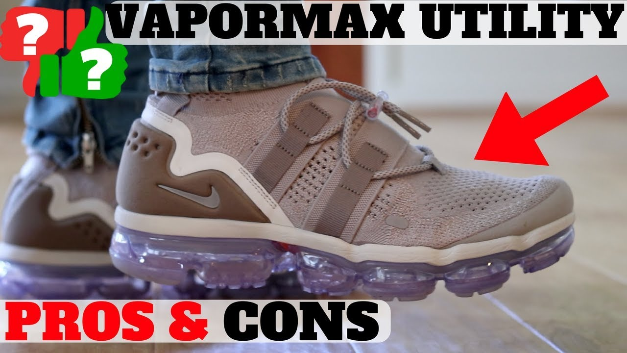 4c4a196674f Worth Buying   225 Nike Air Vapormax Utility Review - YouTube