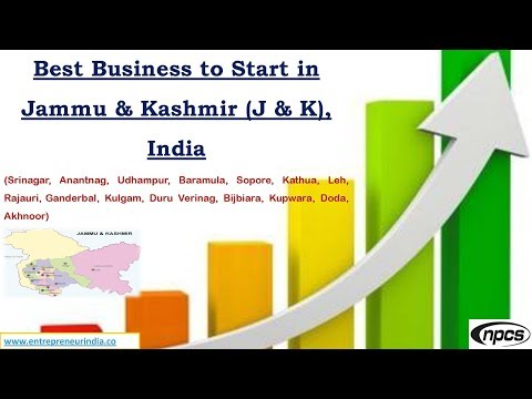 Best Business to Start in Jammu & Kashmir (J & K), India