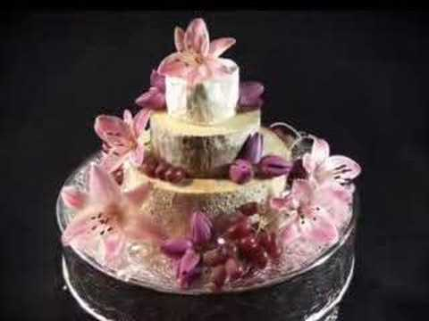 Wedding Party Cakes Made With Cheese Youtube