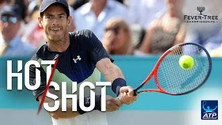 Hot Shot: Murray Turns Defence Into Attack At Queens 2018