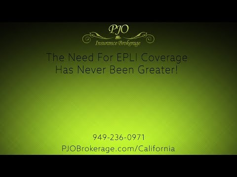 The Need For EPLI Coverage Has Never Been Greater! | PJO Insurance Brokerage