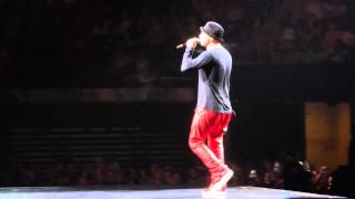 "NKOTB - ""I Need You/Lean On Me/Cover Girl"" (Donnie solo) live @ Madison Square Garden 6-21-2015"