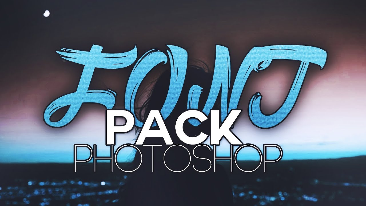 photoshop font design free download