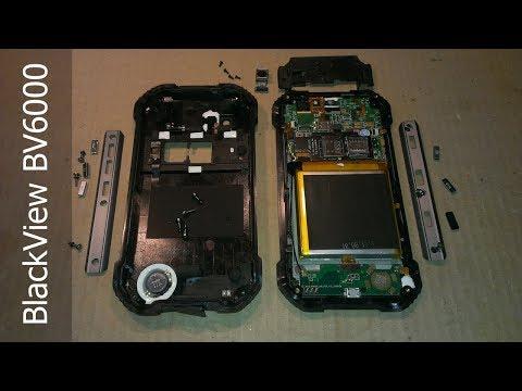BlackView BV6000 \ разборка защищенного смартфона