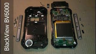 BlackView BV6000  disassembly mustahkam smartfon