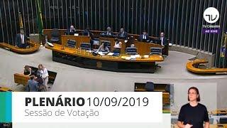 Plenário - Sessão de votação - 10/09/19 - 14:00