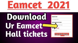 Ts eamcet Hall ticket download 2021 eamcet 2021 ap eamcet latest news 2021