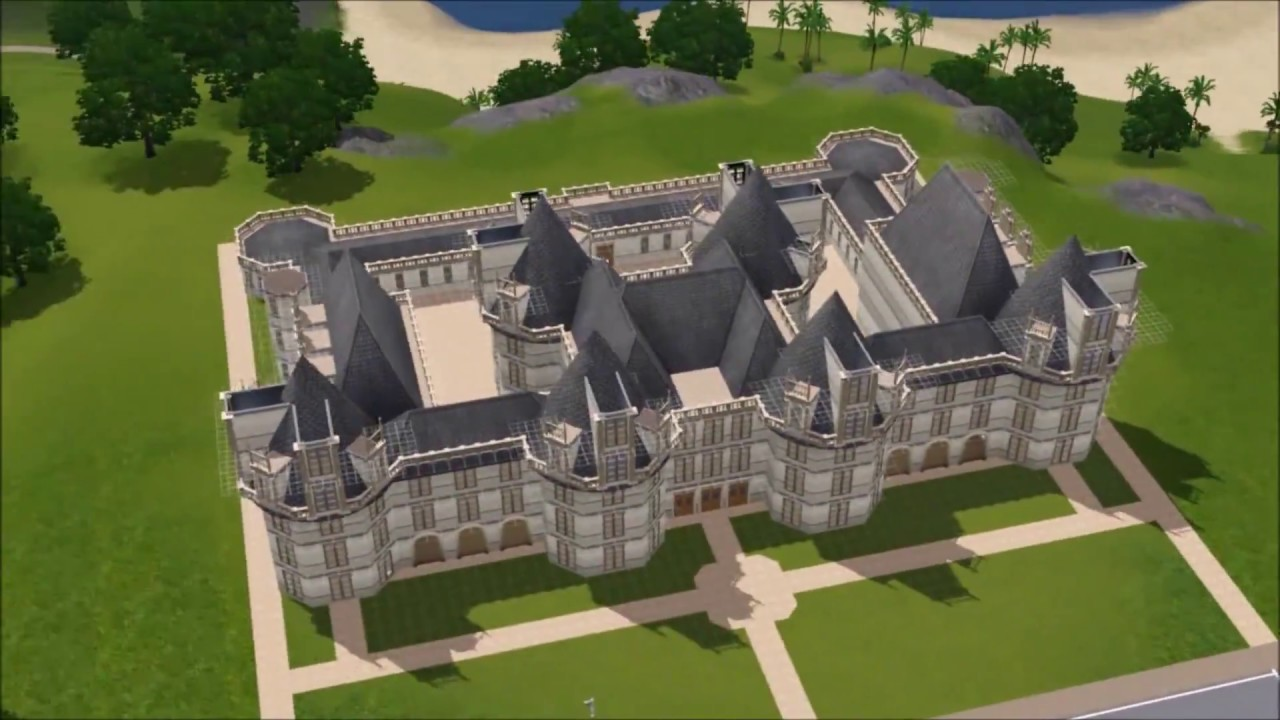 the sims 3 chateau de chambord part 2 youtube. Black Bedroom Furniture Sets. Home Design Ideas