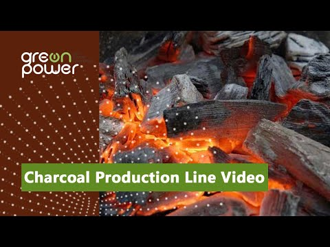 Charcoal Production Line Video