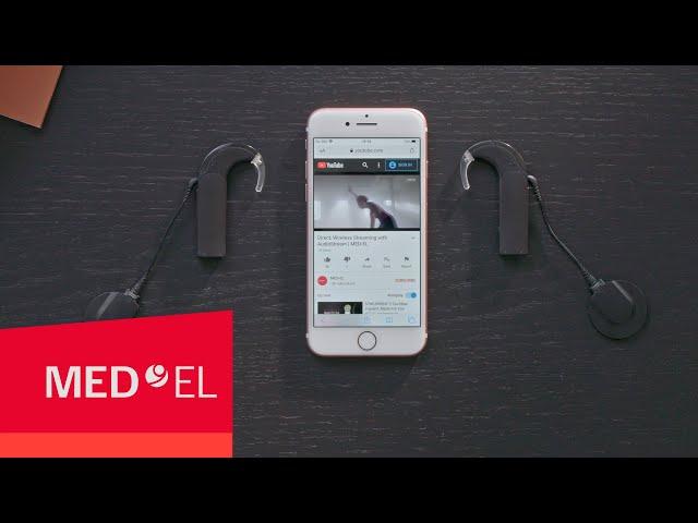 AudioStream Hands-On: Listening to Music | MED-EL