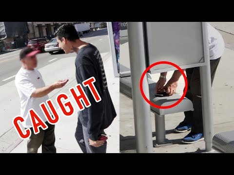 THIEF CAUGHT STEALING MY WALLET (FOOTAGE)
