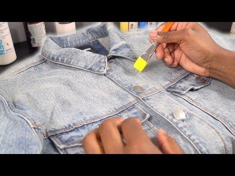 How To Customize A Denim Jacket! 🎨   Xavier Kickz