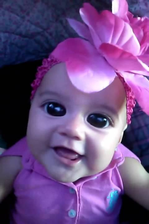 My Baby Girl Has Big Eyes