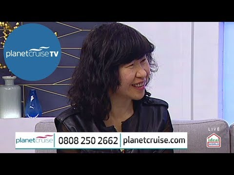 WENDY WU is a Special Guest on Planet Cruise TV Show Special | Planet Cruise