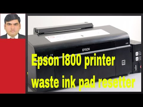 Epson l800 printer waste ink pad resetter