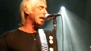 Paul Weller - 7 & 3 Is The Strikers Name - Best Buy Theater 11/07/2010