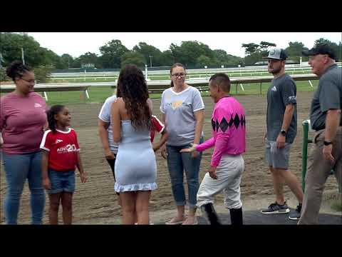 video thumbnail for MONMOUTH PARK 8-23-19 RACE 2