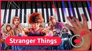 """""""Stranger Things"""" Soundtrack   Klavier lernen - music2me"""