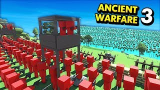 D-DAY WITH ZOMBIES IN ANCIENT WARFARE 3! (Ancient Warfare 3 Funny Gameplay)