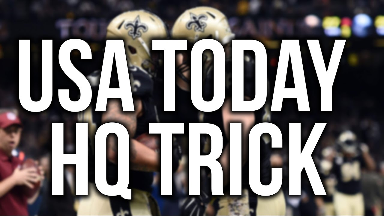 USA TODAY HIGH QUALITY IMAGE TRICK!!! (please watch!!)