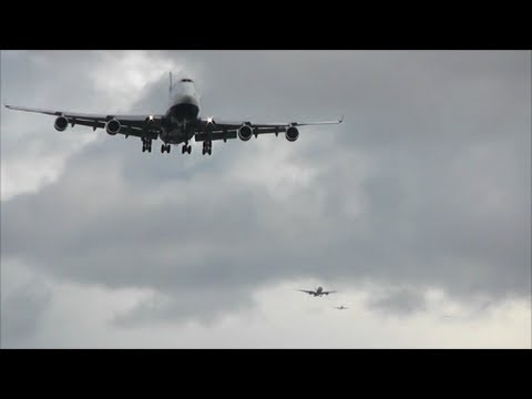 Strong Winds at London Heathrow Airport | 28/10/13