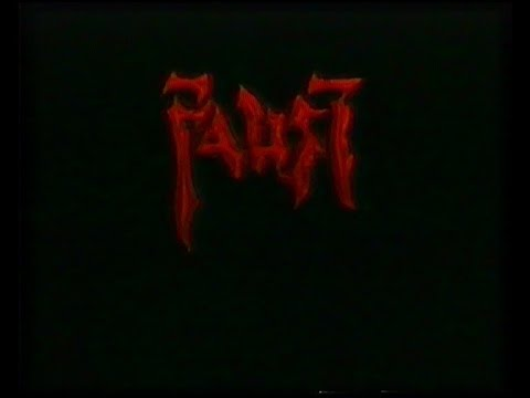 Faust 2000 Faust: Love of the Damned zwiastun VHS
