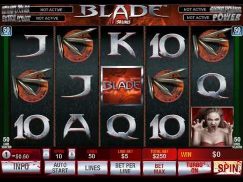Blade 50 Lines Slot Machine Free Play
