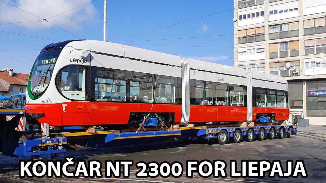 New Zagreb Koncar Nt 2300 For Liepaja Youtube