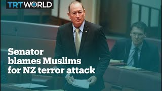 Australian senator blames Muslim immigration for New Zealand terror attacks