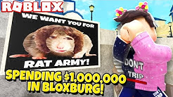 So I Spent $1,000,000 in Bloxburg... (Roblox)