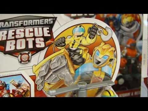 BotCon 2011 Transformers Playskool Heroes RESCUE BOTS (Preschoolers)