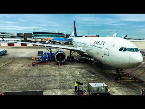 Tripreport / Delta / Amsterdam - Detroit / Airbus A330-300