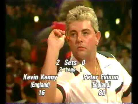 Evison vs Kenny Darts World Championship 1991 Round 2