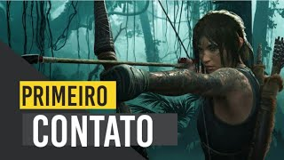 Shadow Of The Tomb Raider PS4  -Primeiro Contato! A Rainha das Tumbas Voltou  #tomb #raider #shadow