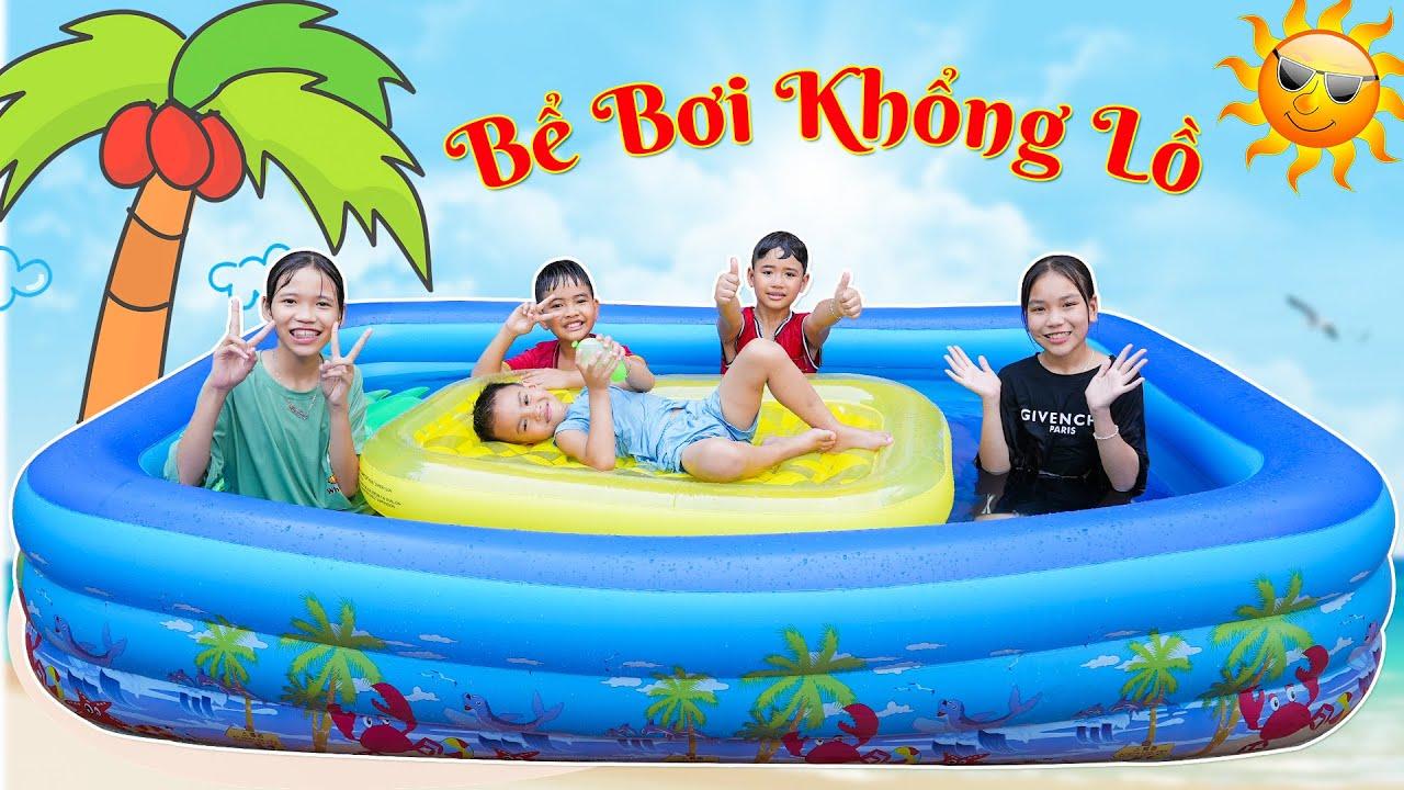 Người Cuối Cùng Rời Khỏi Bể Bơi Khổng Lồ ♥ Minh Khoa TV
