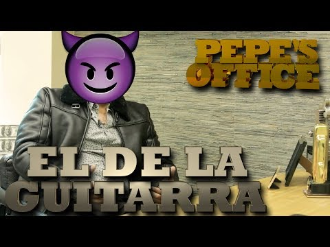 POR QUE SE ESCONDE EL DE LA GUITARRA - Pepe's Office
