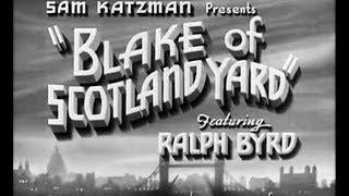 Crime Sci-Fi  Movie - Blake of Scotland Yard (1937)
