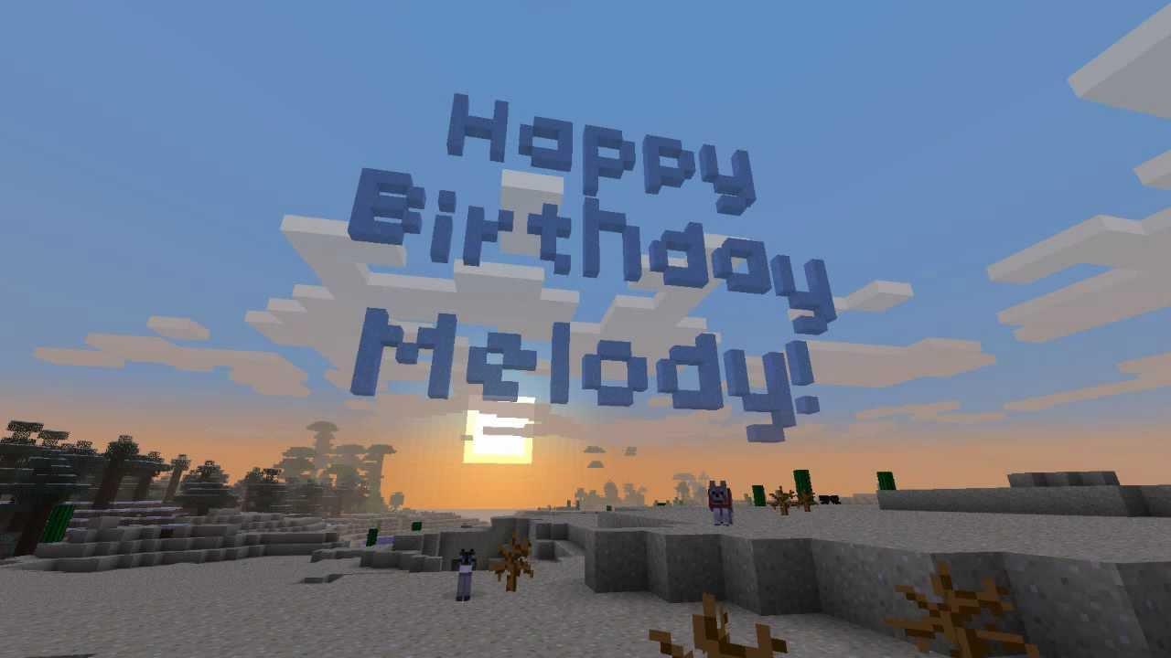 Happy Birthday Melody!