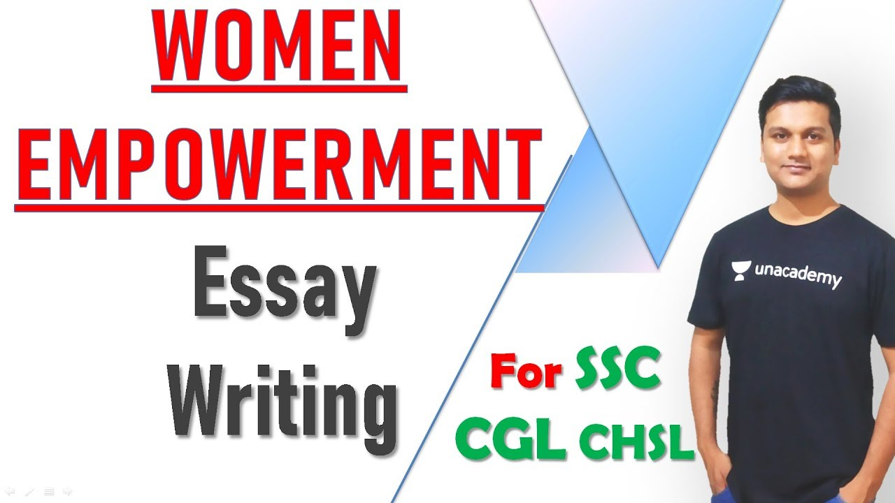 Essays on women empowerment