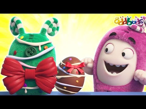 Oddbods | EASTER EGG PAINTING | Funny Cartoons For Children