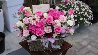 라봄플라워 꽃바구니 부천꽃집 꽃다발