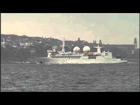 US and French military ships transit Turkey's straits