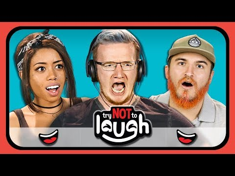 Try To Watch This Without Laughing or Grinning #7 (ft. YouTubers) (REACT)